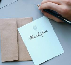Hoe bedanken in het Engels?